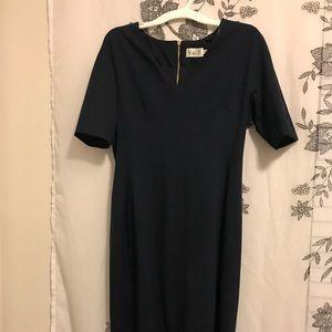 Blue navy dress